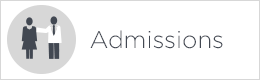 admissions button white