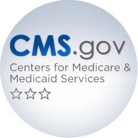 CMS-3-star Medicare rating button
