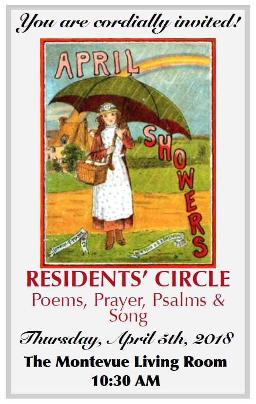 April resident circle invitation