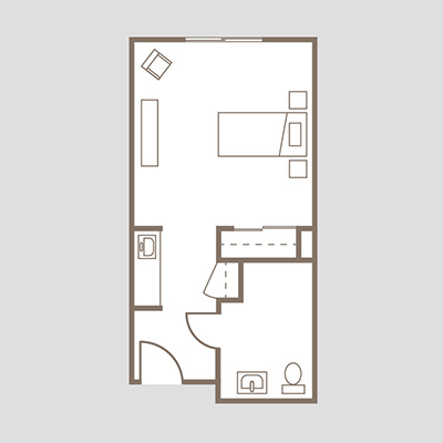 Coronado Heights Unit C studio suite