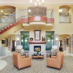 2 story lobby