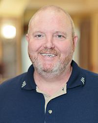 Maintenance Director David Norman