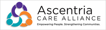 Ascentria care alliance button