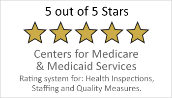 5-star Medicare & Medicaid Services button