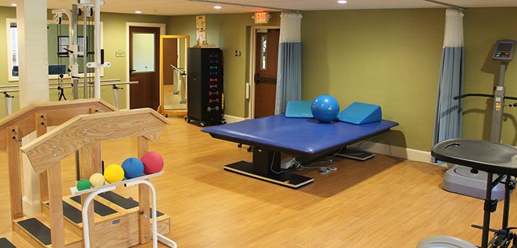 rehab exercise room