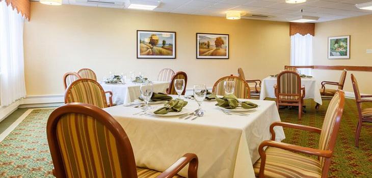 laurel ridge dining room