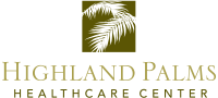 highland palms healthcare center logo