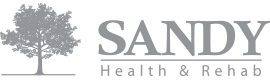 sandy health and rehab logo