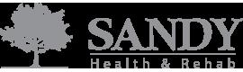 sandy health and rehab logo