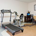 exercise equipment in therapy room