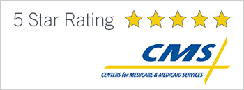 5-star CMS medicare and medicare rating button