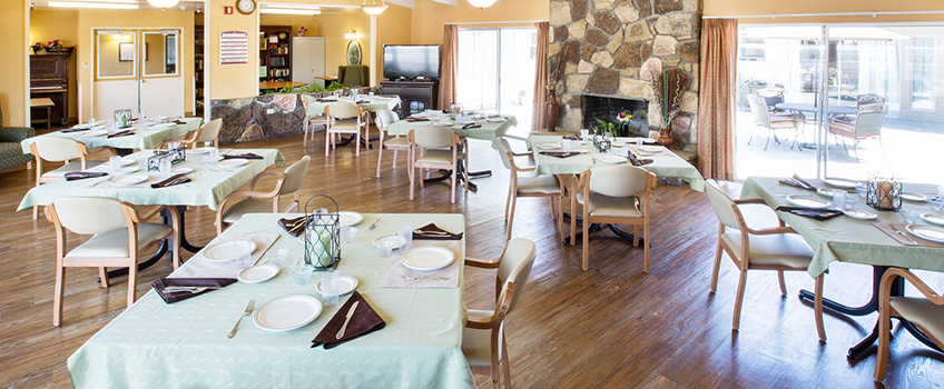 rocky point dining room