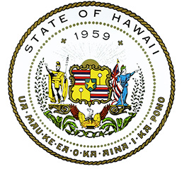 State of Hawaii banner