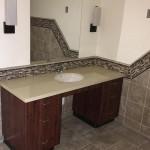 handicapped accessible bathroom sink