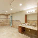 very large handicapped accessible bathroom