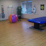 Nicely organized rehabilitation room