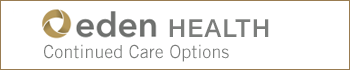 Eden Health Continued Care Options button