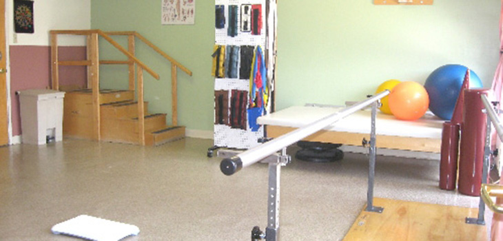 Springs Road rehabilitation and therapy room