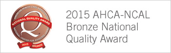 2015 AHCH-NCAL Bronze National Quality Award button