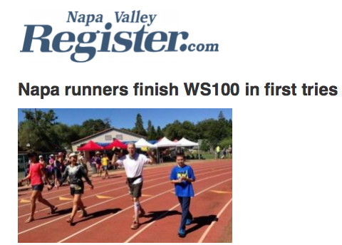 Napa runners finish WS100 in first tries
