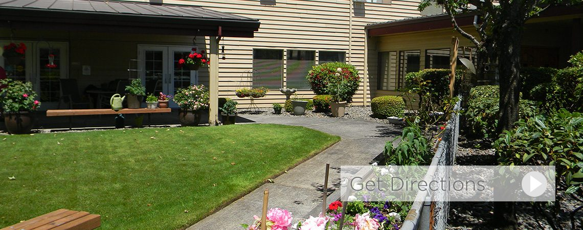 walking paths at Fort Vancouver assisted living