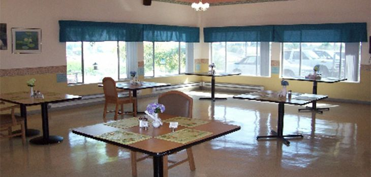 cute dining room with many tables