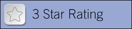 Centers for Medicare and Medicaid Services 3 star rating button