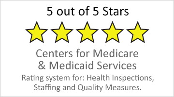 5 star Medicare rating button
