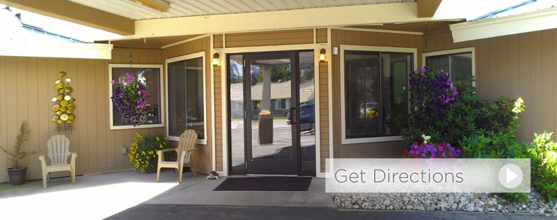 Sandpoint Assisted Living front entrance