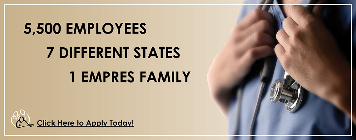 careers, 5000 employees, 7 states, 1 empres family