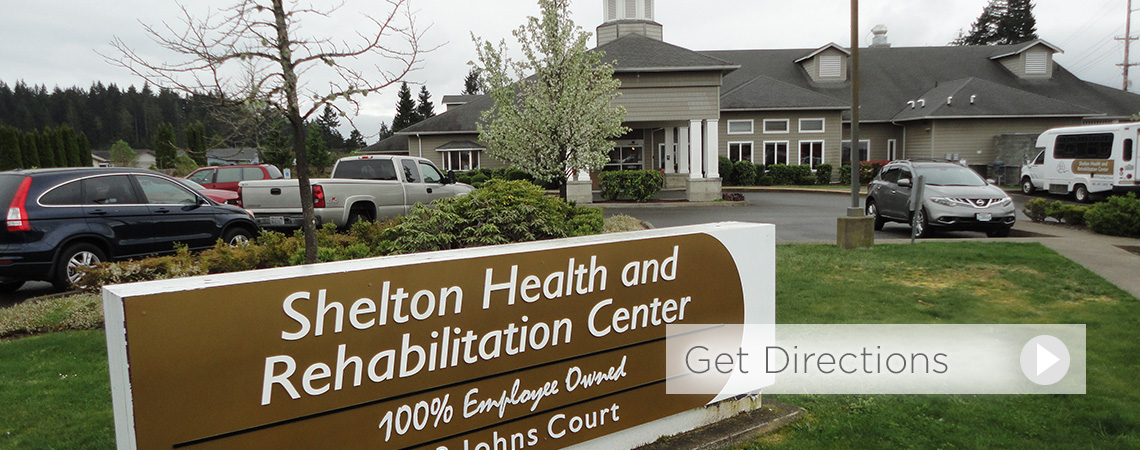 Shelton Health and Rehabilitation Center sign