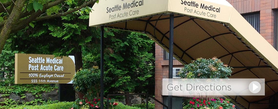 Seattle Medical Post Acute entrance