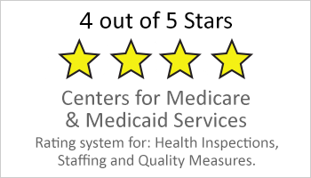 4-star-Medicare rating button