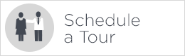 schedule a tour button white