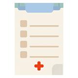 A checklist icon
