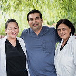 rehabilitation staff group photo