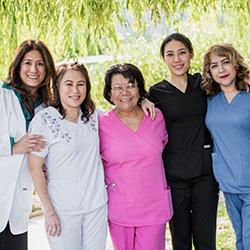 nursing staff group photo