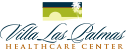 villa las palmas healthcare center logo