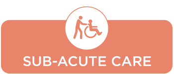 sub-acute care button