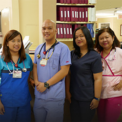 4 Sub-acute staff members from Sunray