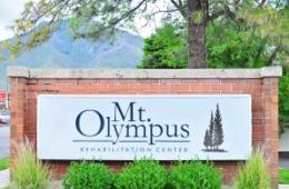 Mt Olympus exterior sign