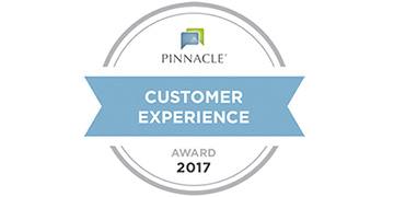 Pinnacle Customer Experience Award 2017