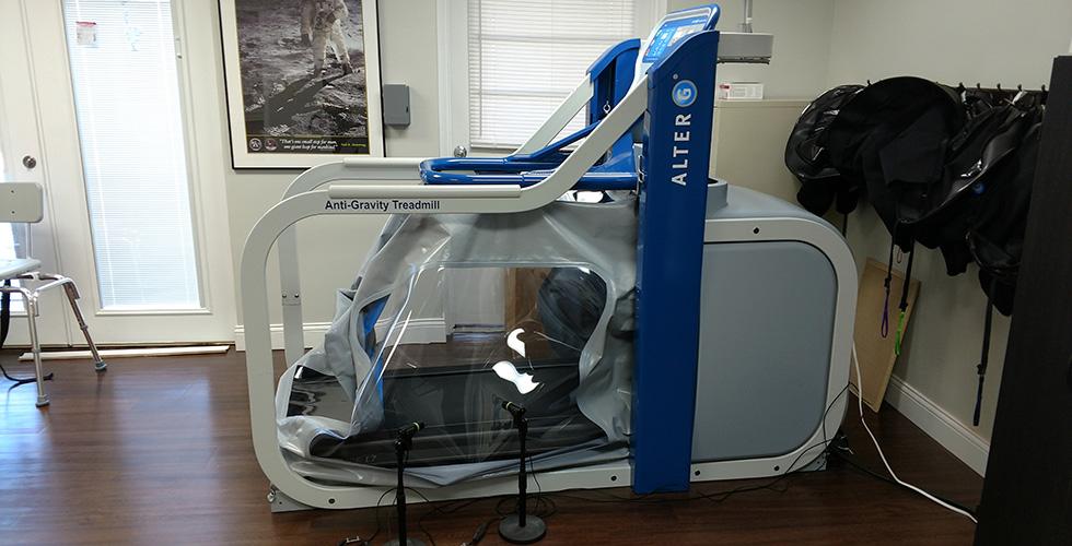 anti-gravity exercise equipment