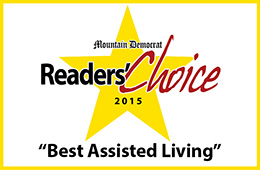 Mountain Democrat Readers' Choice 2015 Best Assisted Living