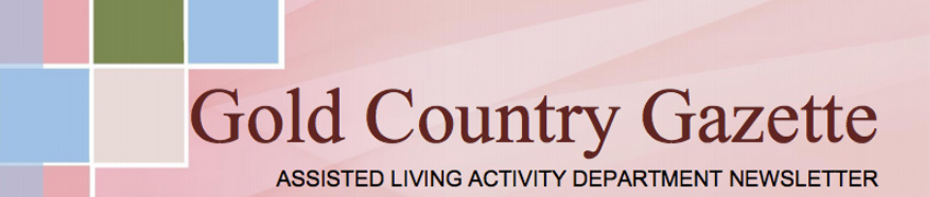Gold Country Gazette newsletter
