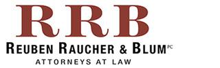 Reuben Raucher and Blum logo