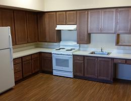 Broadwood Terrace resident kitchen