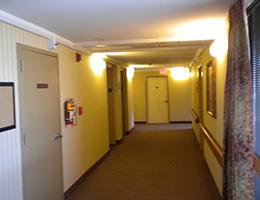 Capitol Towers hallway