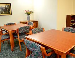 meeting tables at Esperanza