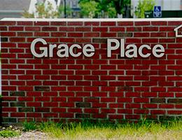 Grace Place outside Signage